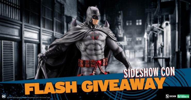 Sideshow Con Flash Giveaway Thomas Wayne Batman Kotobukiya