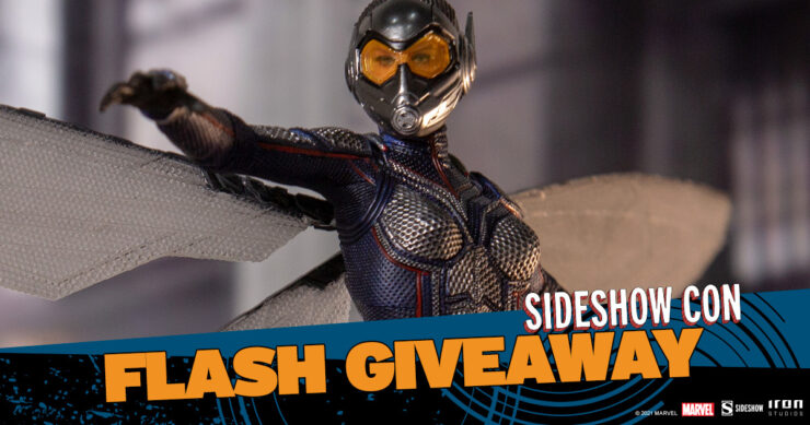 Sideshow Con Flash Giveaway Wasp Statue by Iron Studios