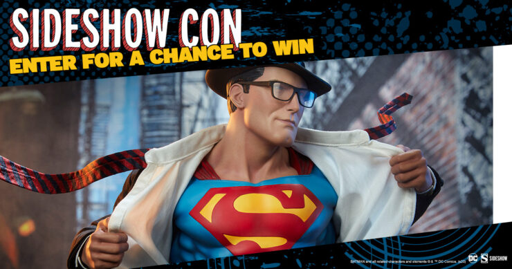 Sideshow Con GIVEAWAY - Superman Call to Action Premium Format Figure