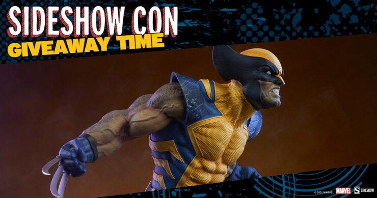 Sideshow Con GIVEAWAY - Wolverine Premium Format Figure