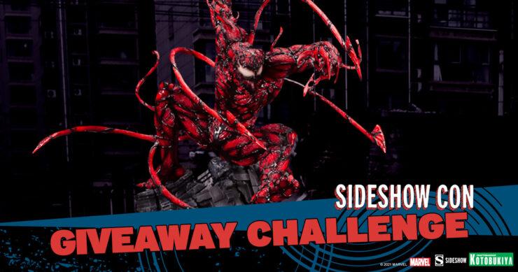 Sideshow Con Giveaway Challenge Maximum Carnage Statue by Kotobukiya