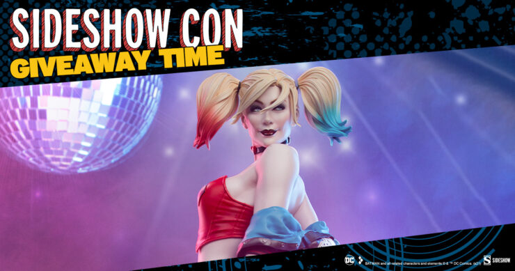 Sideshow Con Giveaway Harley Quinn: Hell on Wheels Premium Format Figure by Sideshow