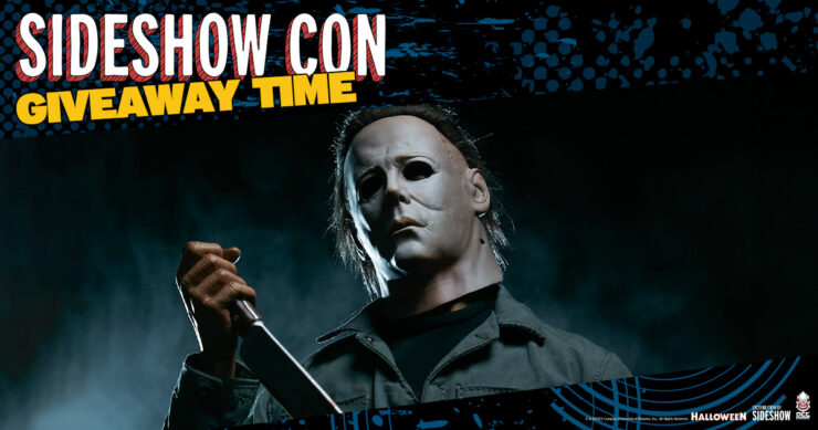 Sideshow Con Giveaway Michael Myers Quarter Scale Statue by PCS