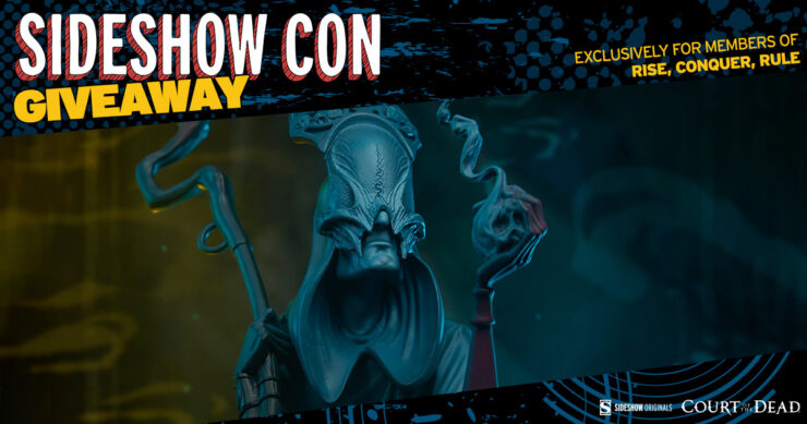 Sideshow Con Giveaway Rise Conquer Rule Death: The Curious Shepherd Statue by Court of the Dead and Sideshow