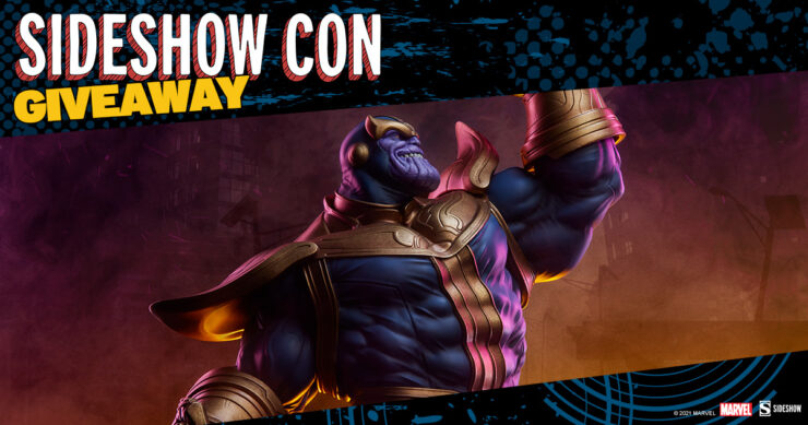 Sideshow Con Giveaway - Thanos Modern Version Statue