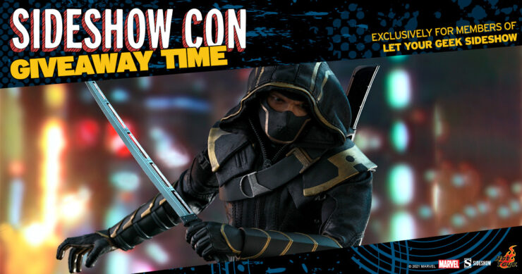 Sideshow Con LYGSS Giveaway - Hawkeye Sixth Scale Figure by Hot Toys