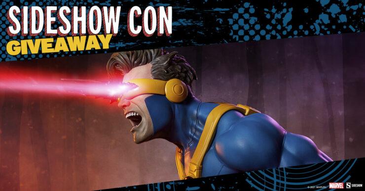 Sideshow Con giveaway Cyclops Premium Format Figure