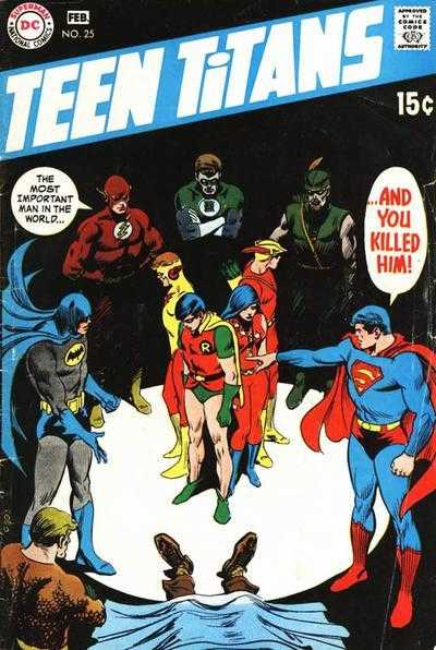 An accidental death causes the Teen Titans to consider their roles as heroes