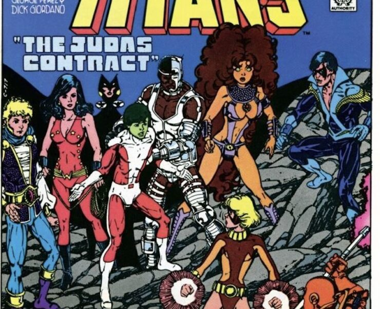 One of the most famous Teen Titans storylines is the shocking Judas Contract series