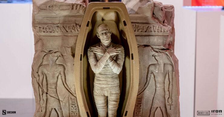 The-Mummy-Universal-Monsters-Iron-Studios-Sideshow-Sideshowcon-1