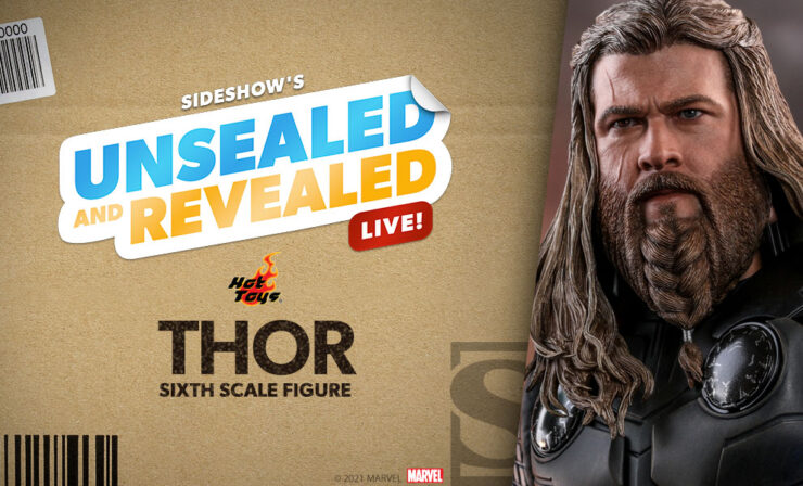 Hot Toys presents its Thor Sixth Scale Figure on Unsealed and Revealed, August 3 2021