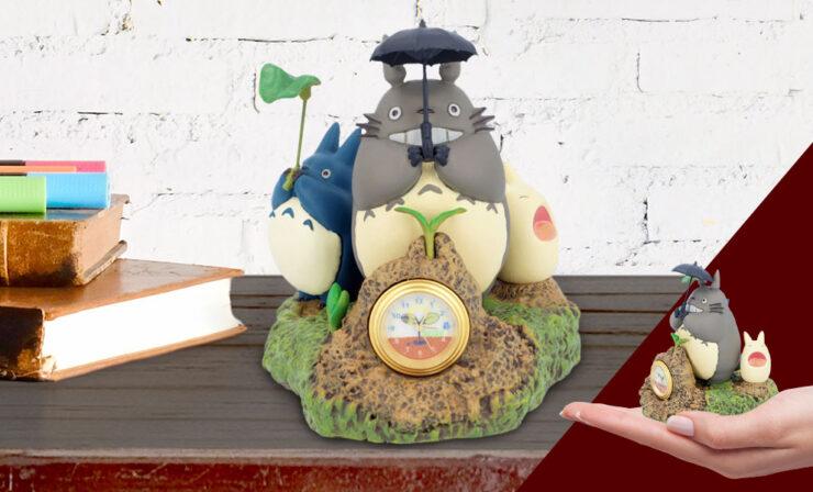 Totoro Dondoko Dance Desk Clock