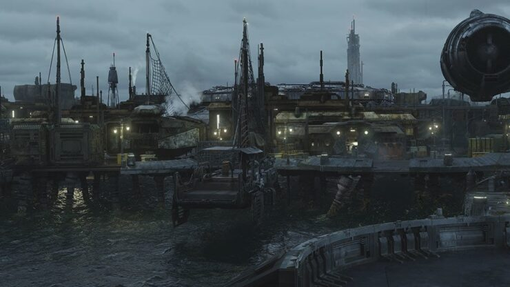 Trask is an estuary moon commonly inhabited by Mon Calamari and Quarren
