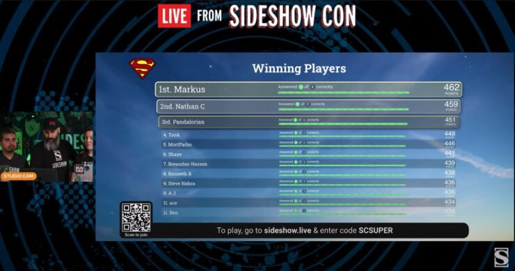 Trivial Cahoots live from sideshow day 4 part 2 game 2
