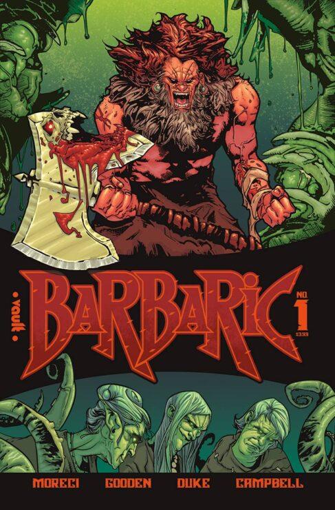 Barbaric #1 (Vault Comics)