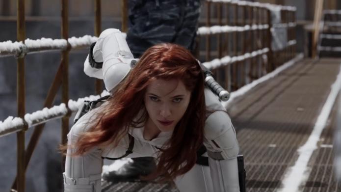 Natasha defies Dreykov's nefarious Black Widow Program