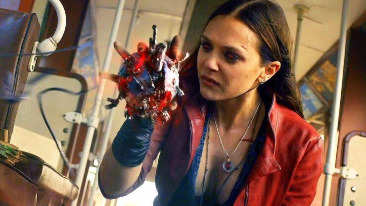Elizabeth Olsen as Wanda Maximoff/Scarlet Witch in Marvel Studios Avengers Age of Ultron