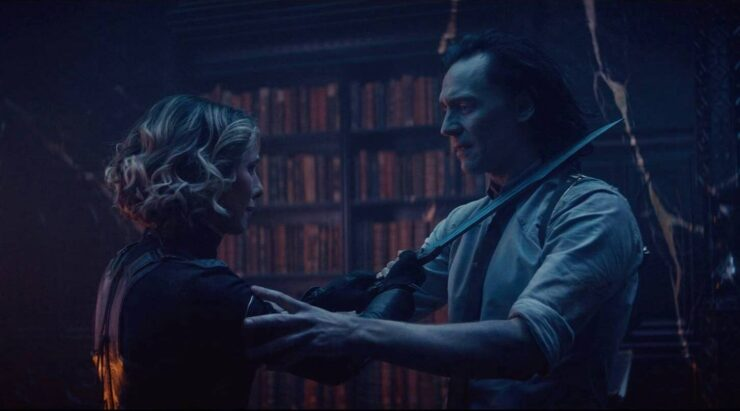 Loki tries to appeal to Sylvie in the Loki season 1 finale