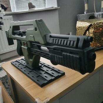 Alien gun collectible