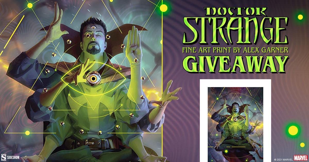 Doctor Strange Fine Art Print Giveaway