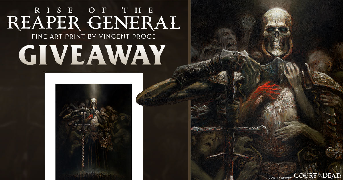 Rise of the Reaper General Fine Art Print Giveaway