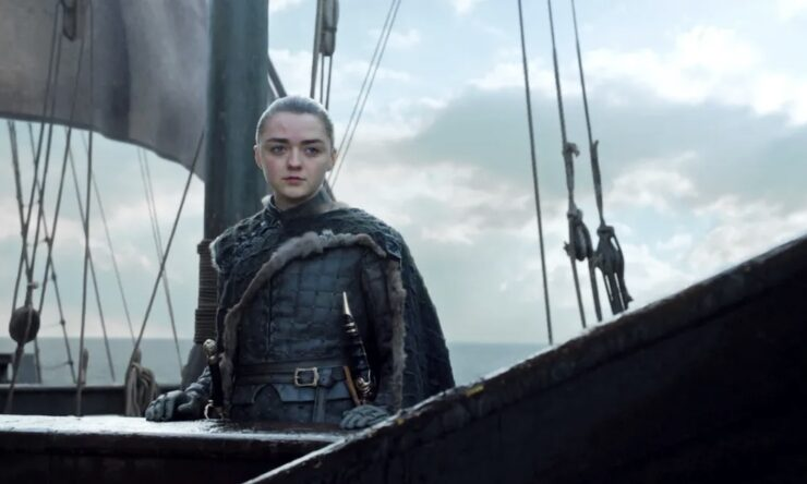 After restoring order to Westeros, Arya decides to sail west into uncharted territories and unlimited possibilites