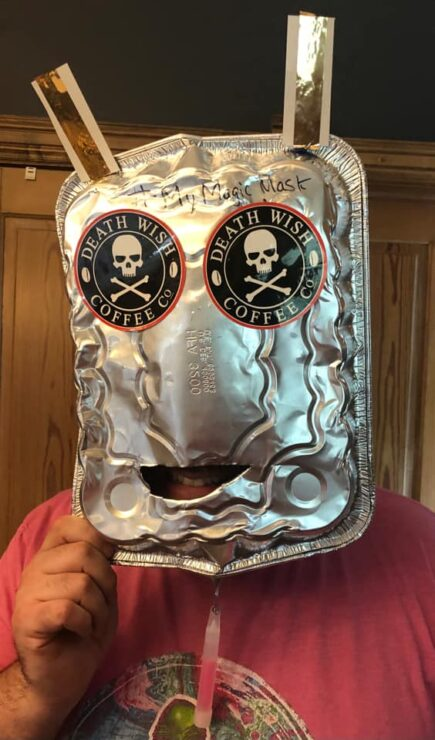 Let Your Geek Sideshow Facebook Group member Brenton W.'s Magic Mask Giveaway entry
