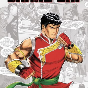 Shang-Chi in one of his standalone comic titles, Marvel-Verse: Shang-Chi
