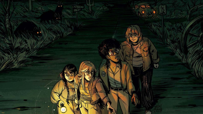 Four girls encounter more than they bargained for in Boom! Studios' Proctor Valley Road