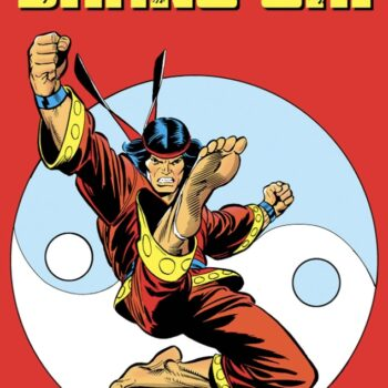 Shang-Chi leaps into the air to deliver a devastating kick as he first appeared in Marvel Comics