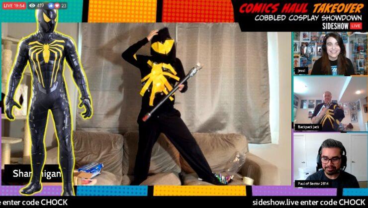 Shanon - Spider-Man Anti-Ock - Sideshow Comics Haul Takeover
