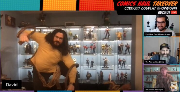 Sideshow Comics Haul Takeover - Cobbled Cosplay - David