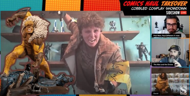 Sideshow Comics Haul Takeover - Cobbled Cosplay - Sabretooth - Logan