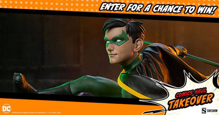 Sideshow Comics Haul Takeover Giveaway Robin Premium Format Figure by Sideshow
