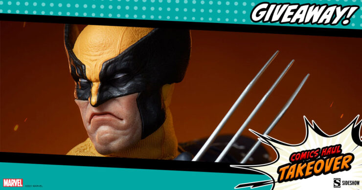 Sideshow Comics Haul Takeover Giveaway Wolverine (Astonishing Version) Sixth Scale Figure by Sideshow