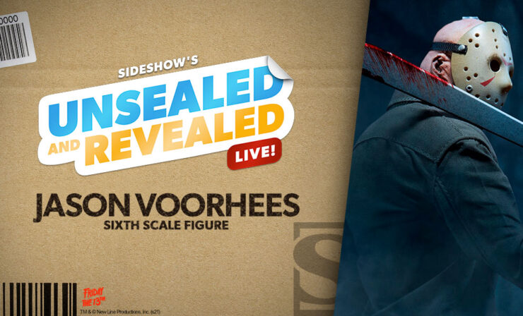 Up Next on Unsealed and Revealed: Jason Voorhees Sixth Scale Figure by Sideshow