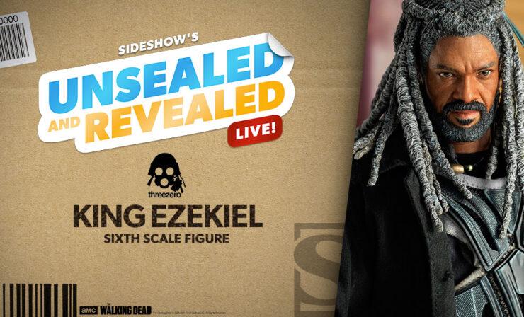 Up Next on Unsealed and Revealed: King Ezekiel Sixth Scale Figure by Threezero