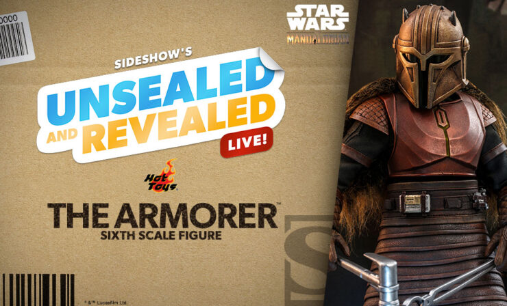 Up Next on Unsealed and Revealed: The Armorer Sixth Scale Figure by Hot Toys