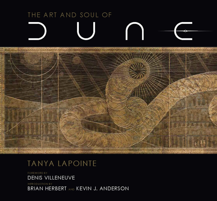 The Art and Soul of Dune Cover with Sandworm- Insight Editions