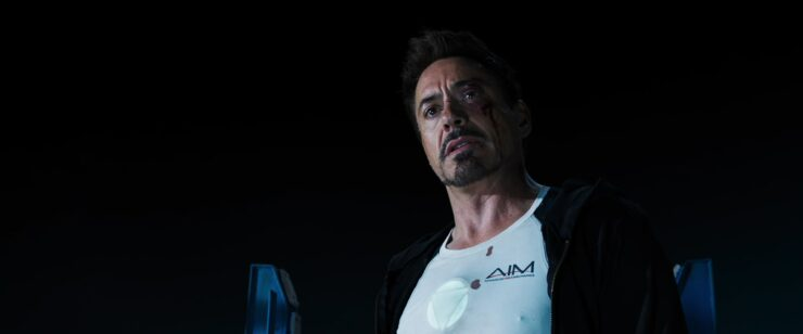 In a final confrontation with Aldrich Killian in Iron Man 3, Tony realizes how perfect Pepper is to him