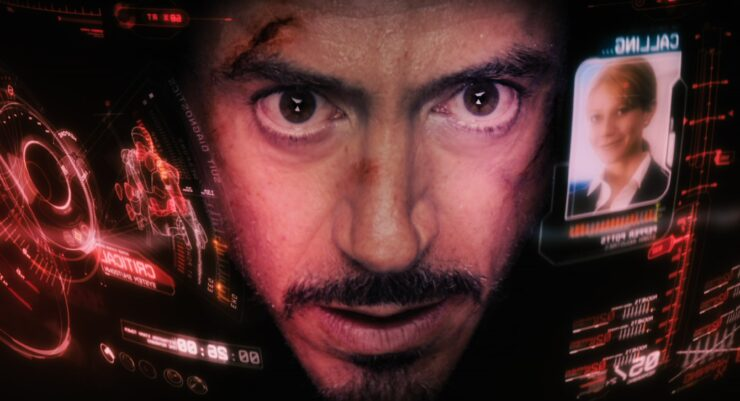 Tony relies heavily on Pepper's level-headed support when he faces trouble