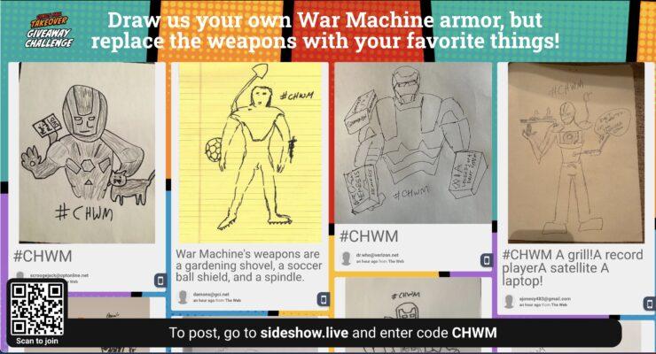 War Machine Giveaway Challenge - Sideshow Comics Haul Takeover