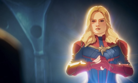 In episode 3 of Marvel's What If...?, Nick Fury calls upon Captain Marvel to help lead the Avengers