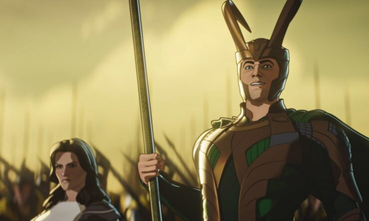In episode 3 of Marvel's What If...?, Loki arrives on Earth with an army to avenge Thor's death