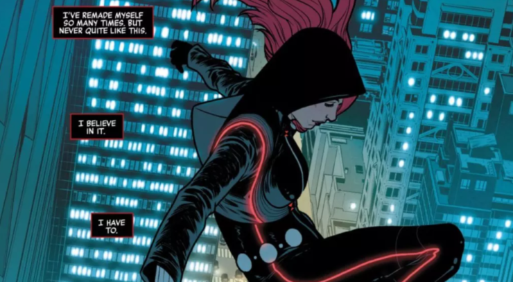 Black Widow is given a chance at a normal life, but is that the life really meant for her?