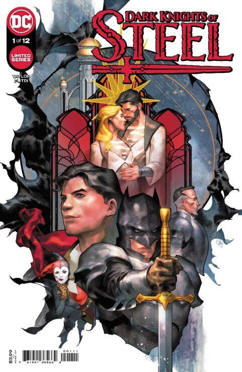 Dark Knights of Steel #1 Cover- Yasmine Putri DC Comics