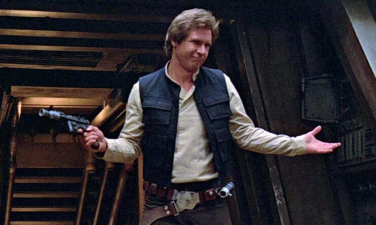 Han Solo (Harrison Ford) in Star Wars Episode VI: Return of the Jedi