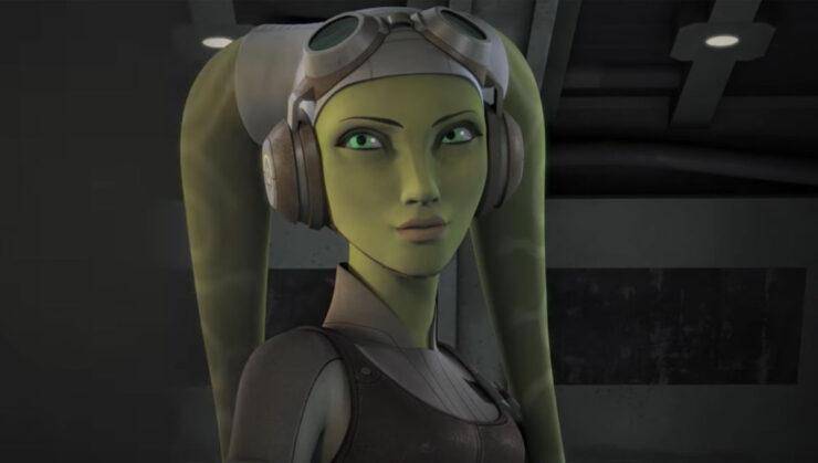 Hera Syndulla in Star Wars Rebels