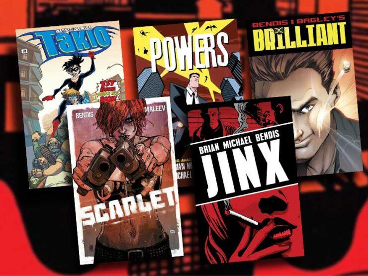 Jinxworld Comic Covers- Jinx, Scarlet, Powers, Takio, Brilliant
