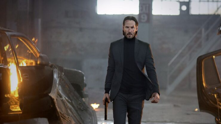 John Wick (Keanu Reeves) in John Wick